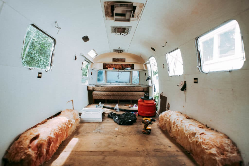 DIY Airstream Renovation Of Our 48 Airstream Overlander Enchanting Airstream Interior Design