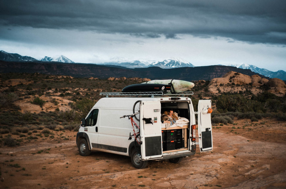Moab Utah Adventure Photography Session // Van Life Vibes // Abbi & Callen