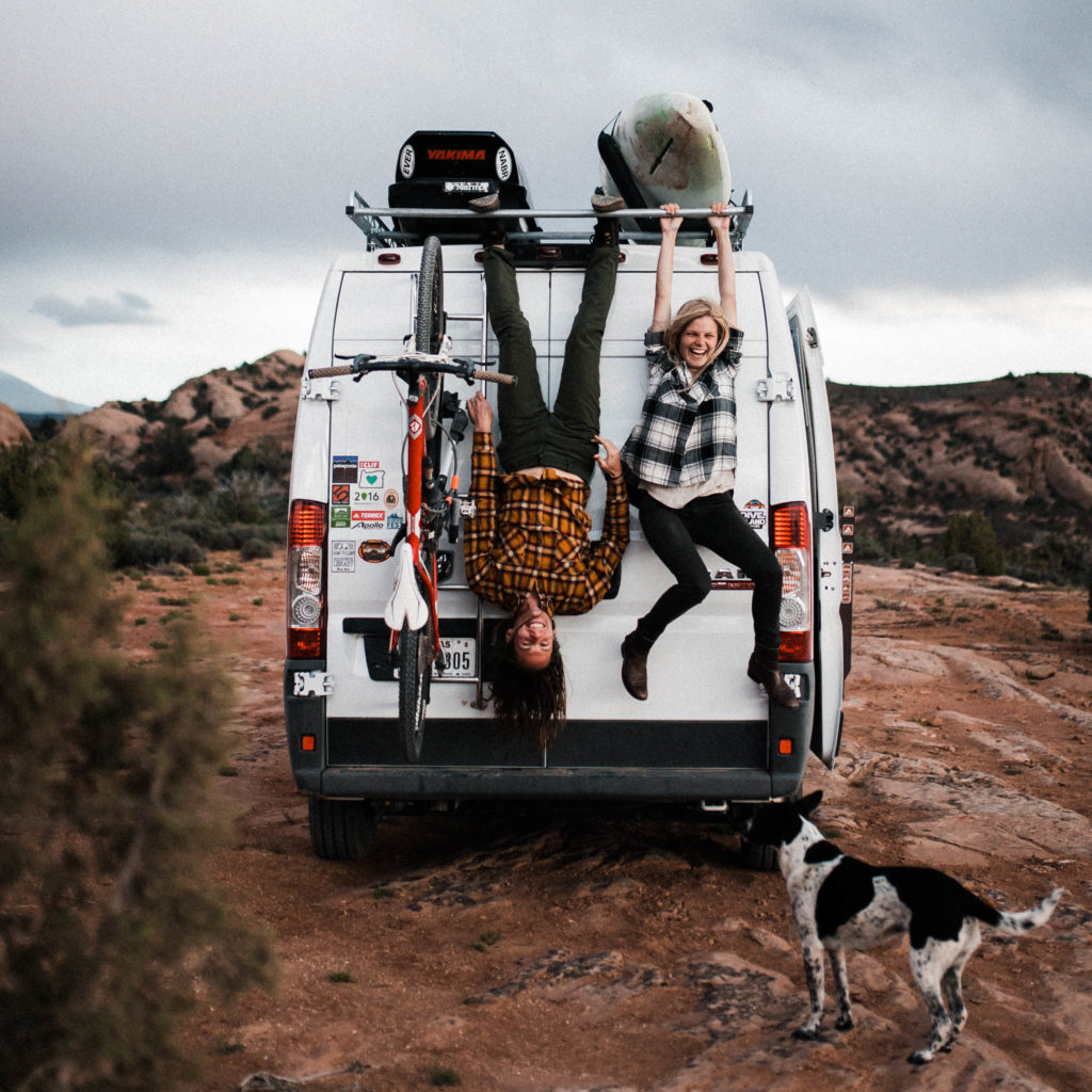Moab Utah Adventure Photography Session with Abbi & Callen by The Foxes Photography, outdoor wedding photographers.