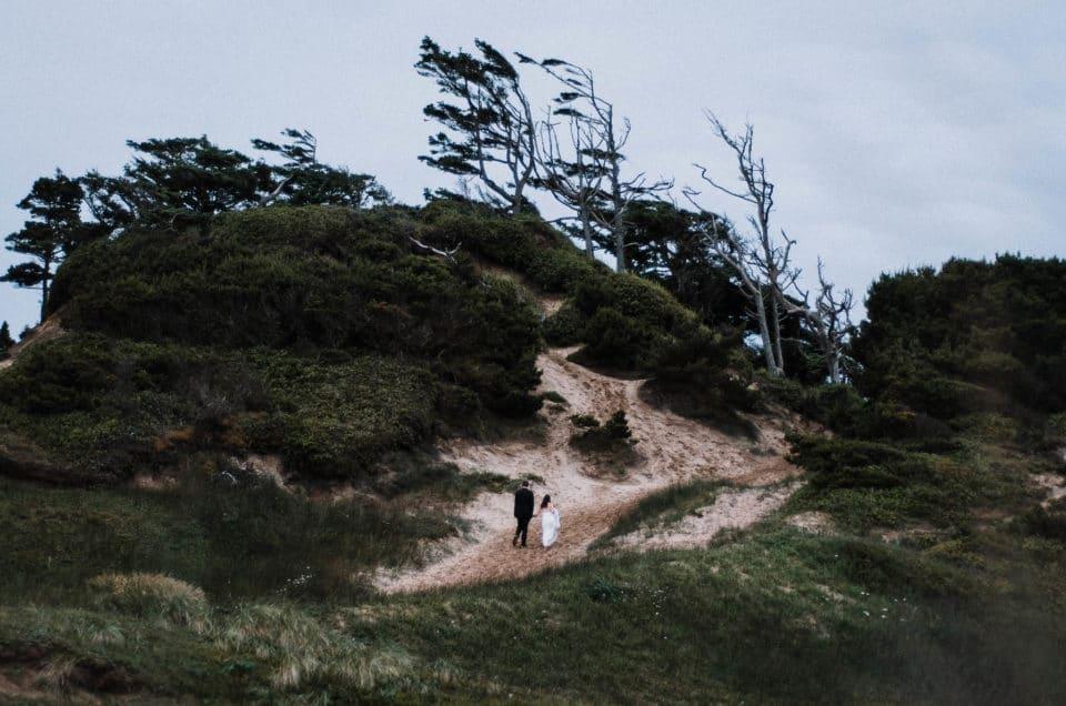 Cape Kiwanda Adventure Session // Epic Oregon Coast Wedding Photography