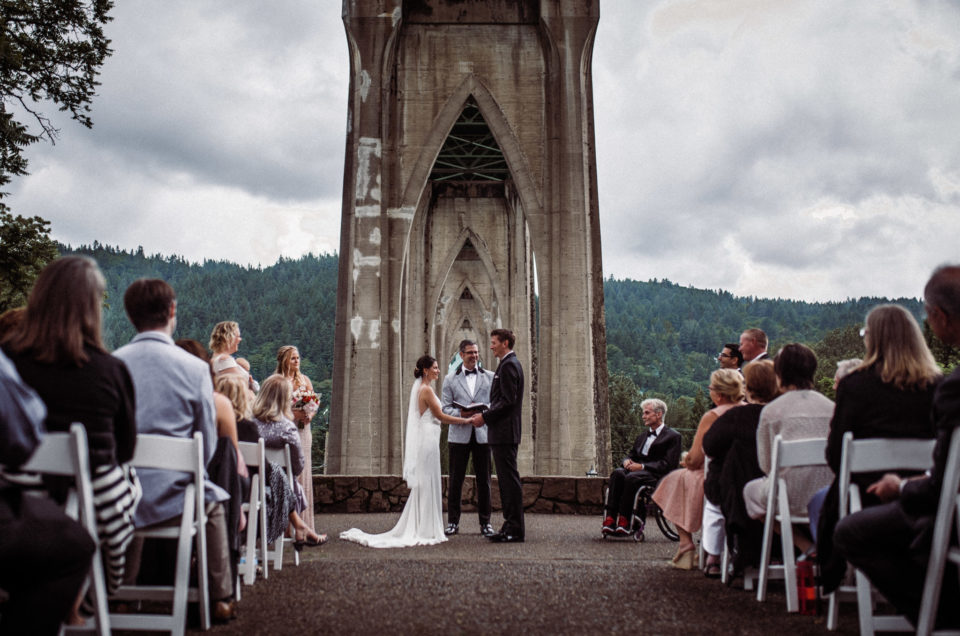 Coolest Portland Wedding Ceremony Location: Cathedral Park