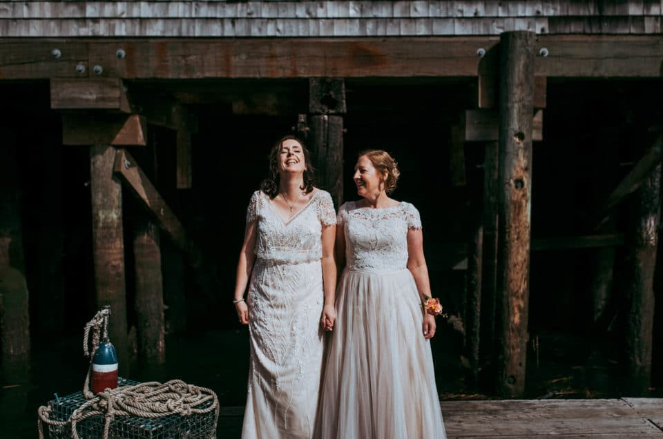 Adventure in the Seaport District // A Bahston Wedding