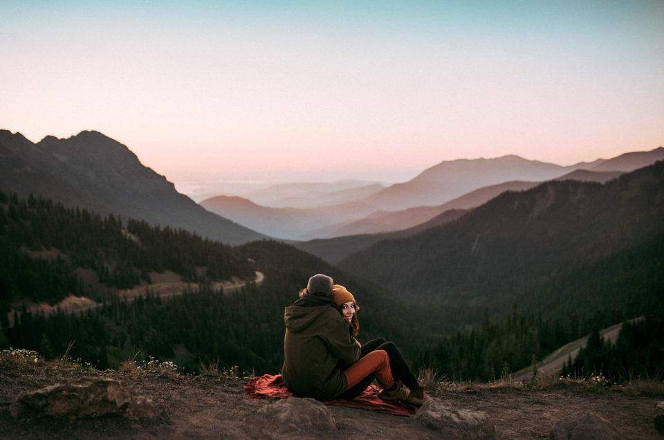 Hurricane Ridge Elopement Scouting | Olympic National Park Wedding Photographers