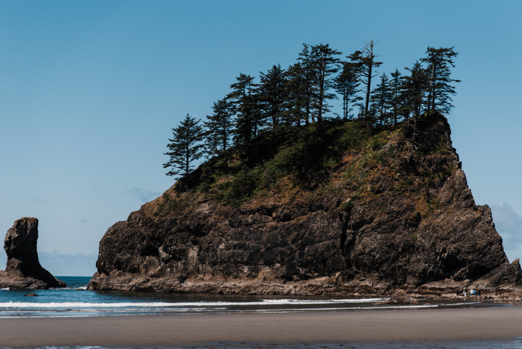 Second Beach in Olympic National Park, La Push, Washington.