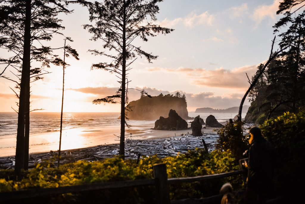 ruby beach elopement location scouting
