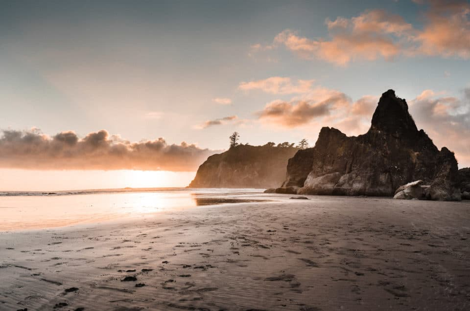 Ruby Beach Elopement Scouting // Seattle Wedding Photographers