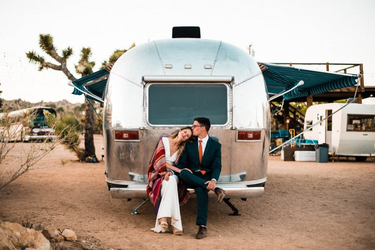 Joshua tree elopement photographer Rimrock ranch wedding
