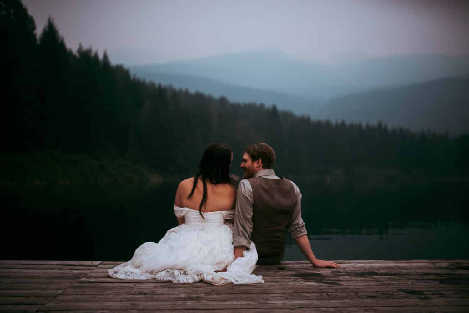 outdoor adventure wedding photographer pnw whistler lost lake