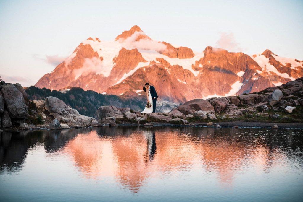 Elopement photographer for adventure elopements in Washington, Oregon, California, Utah, Arizona, Colorado