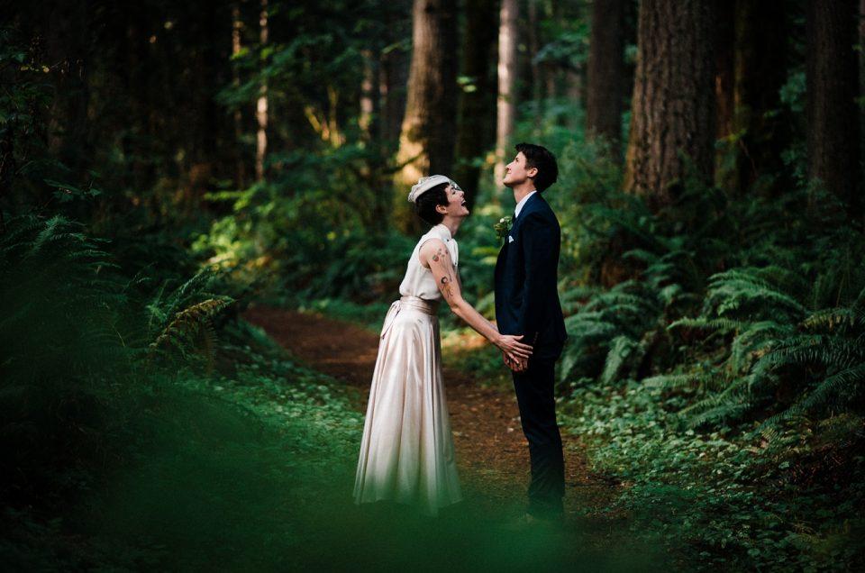 Millersylvania State Park Intimate Wedding