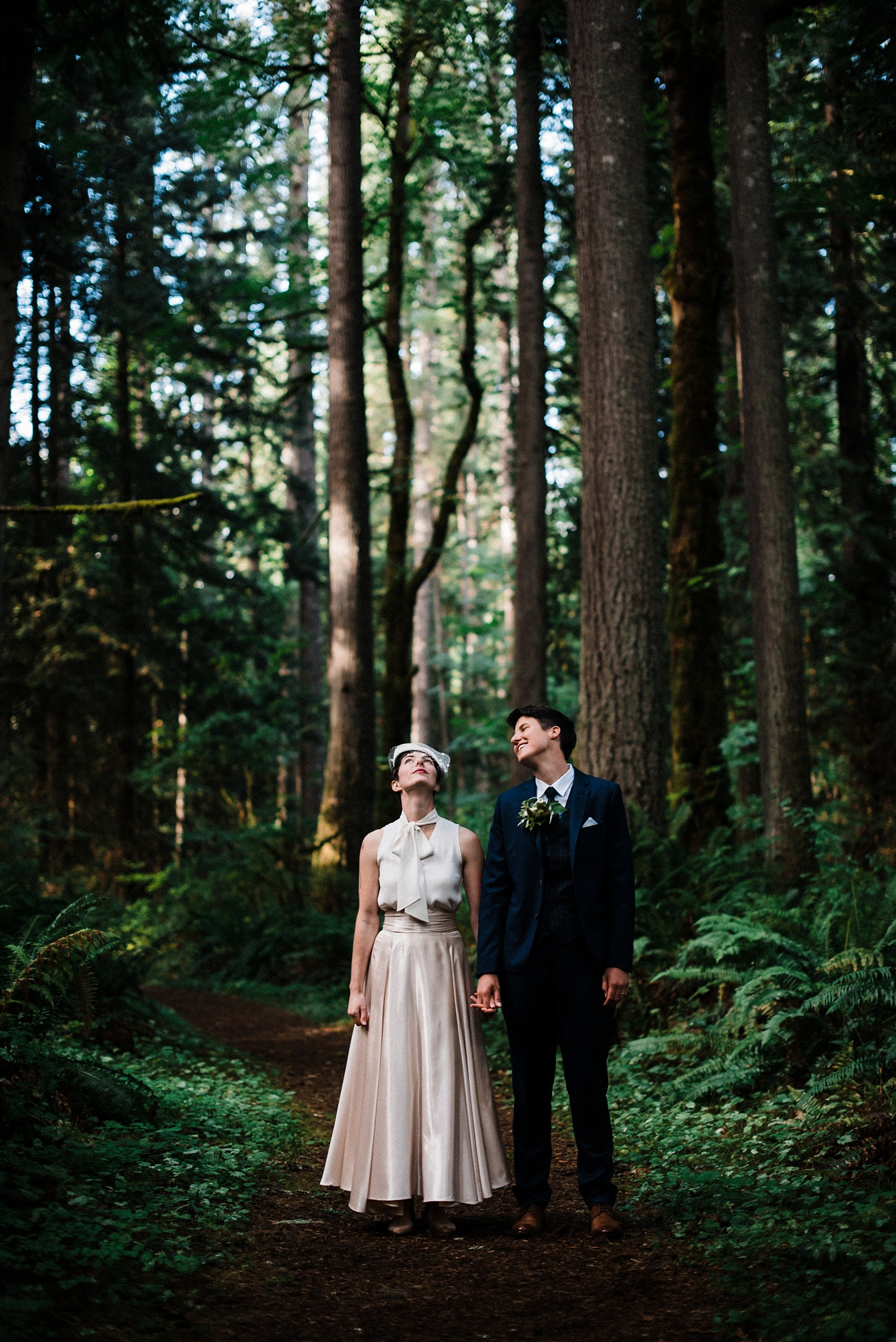 Best Places To Elope In Washington State Old Growth Forest Elopement Photography