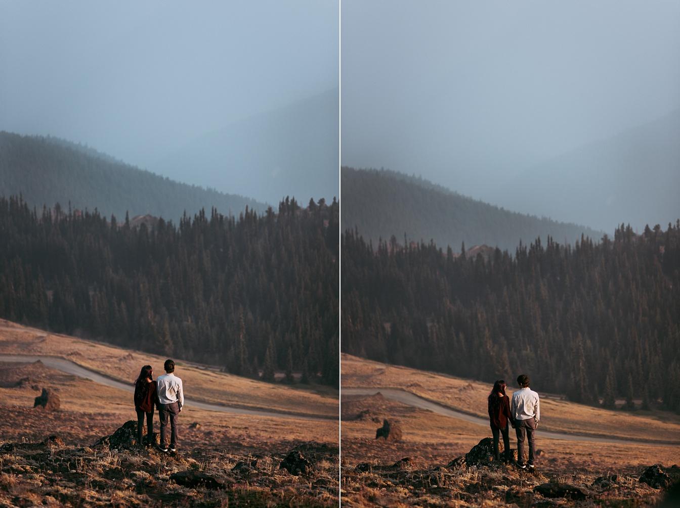 Deer Park Blue Mountain Engagement