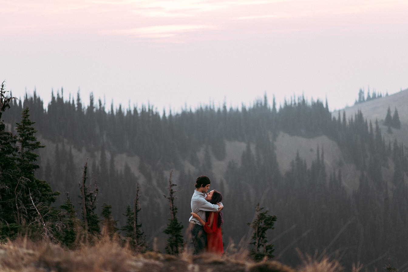 Deer Park Blue Mountain Engagement