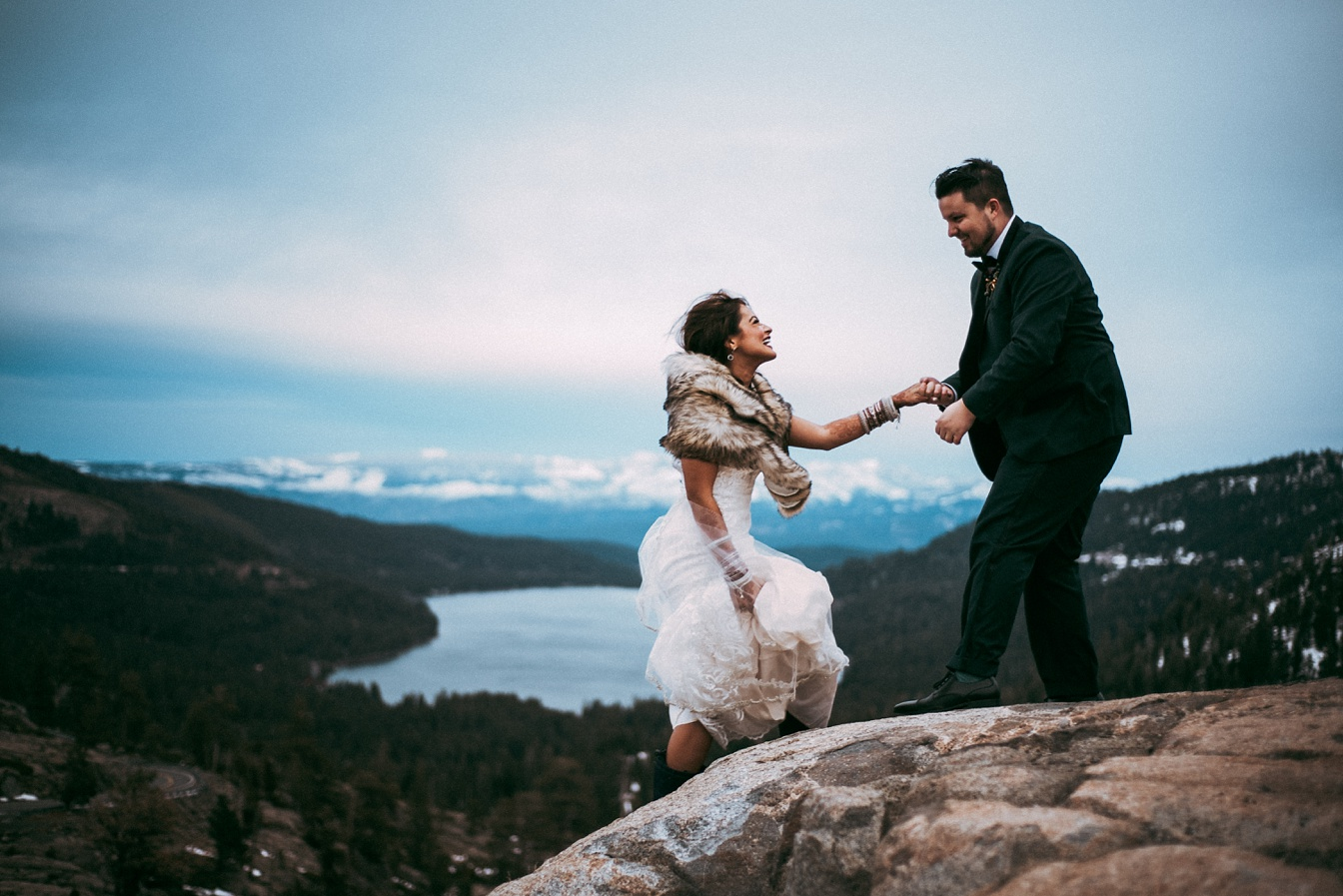 Chris and Abby,Lake Tahoe,Weddings,