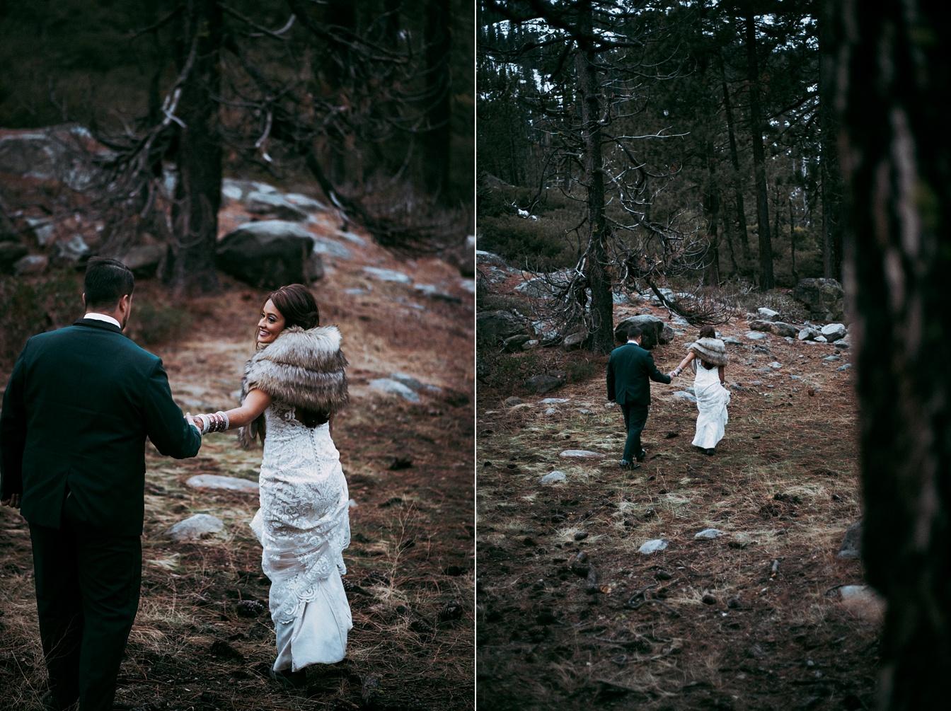 Lake Tahoe Adventure Wedding