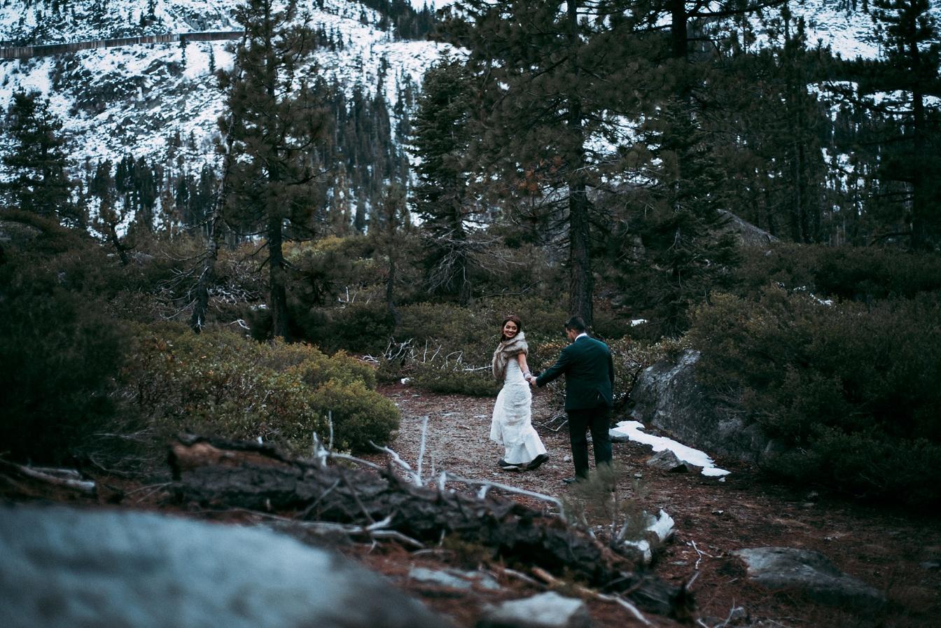 Lake Tahoe Adventure Wedding,