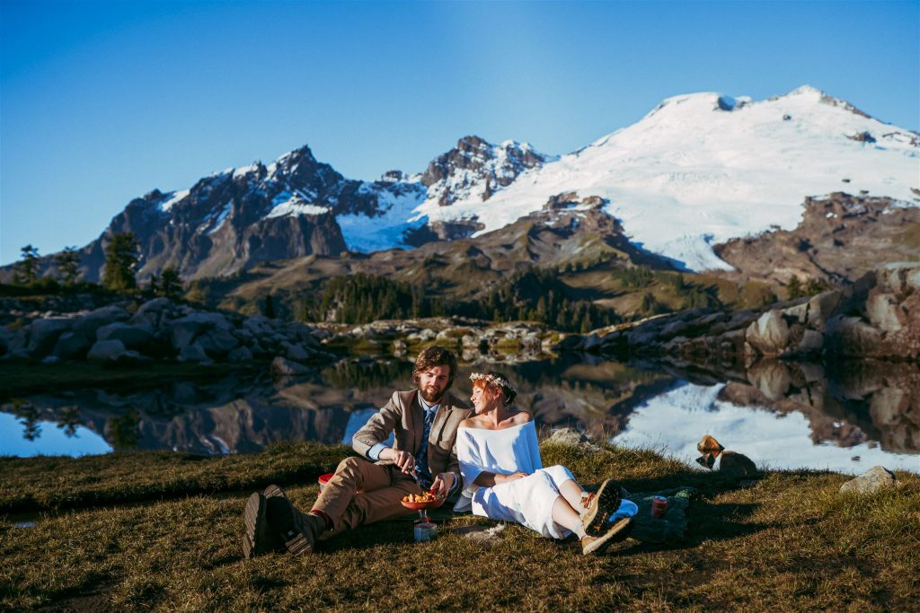 Places to elope in washington state in mount baker