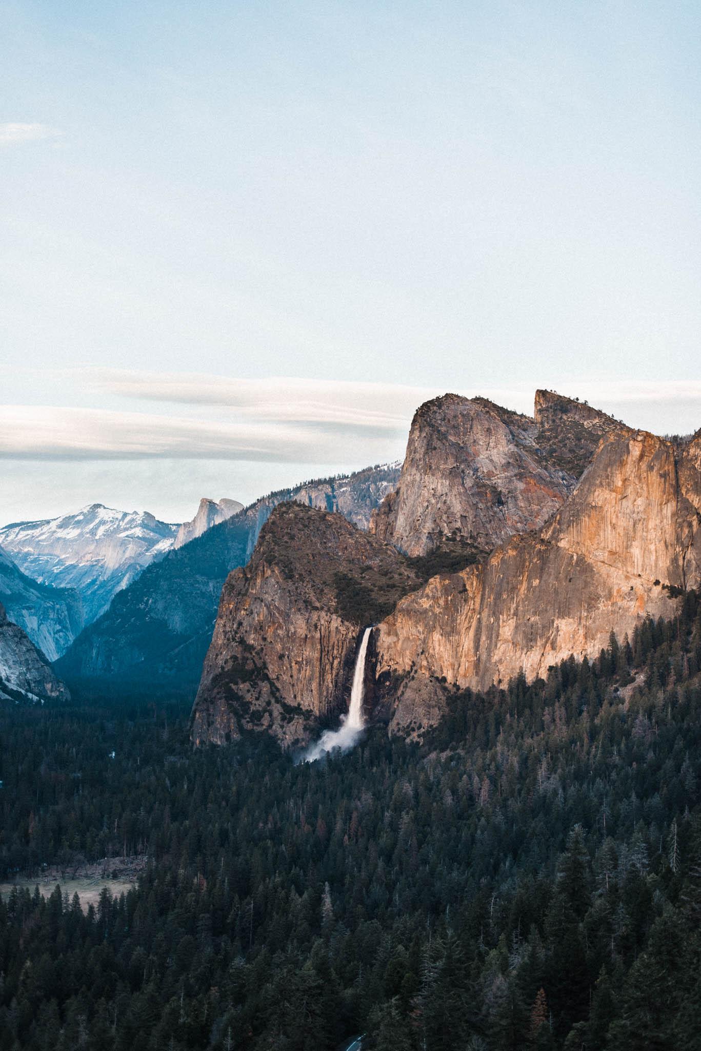 Yosemite Elopement Travel Photographer Tunnel View