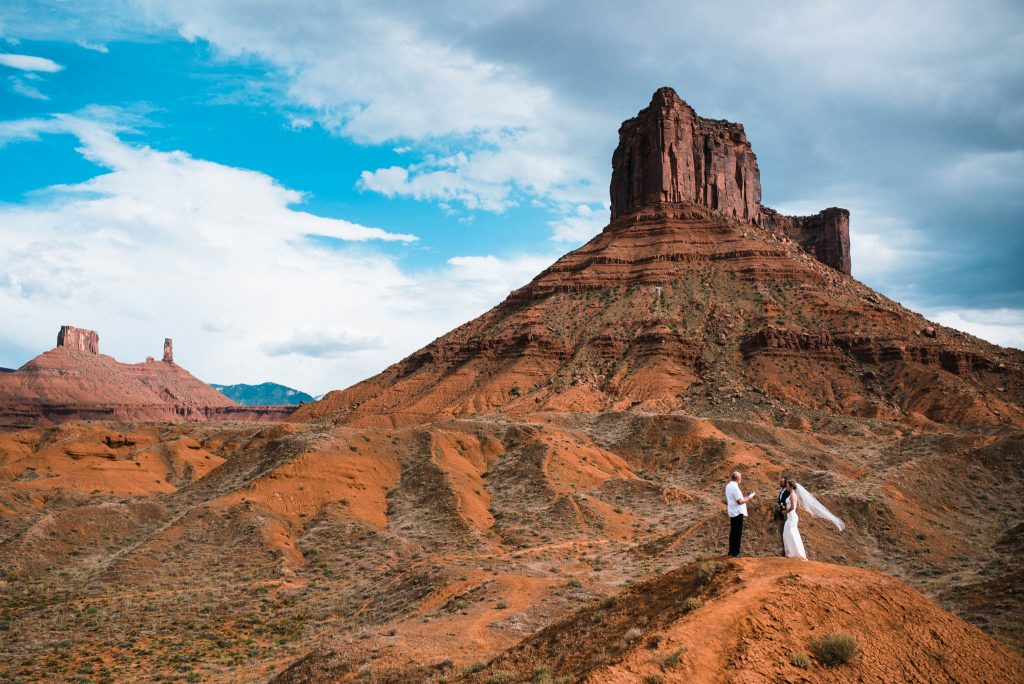 Moab elopement photographer and Utah elopement photographer