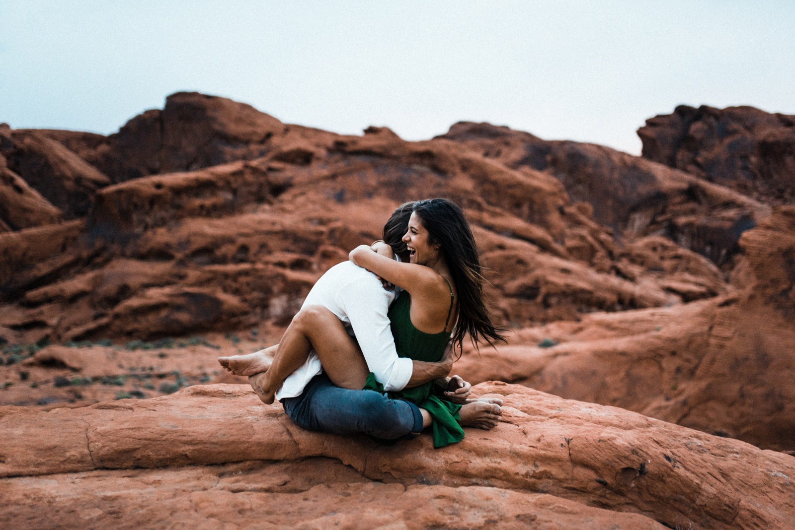 Valley of Fire State Park Adventure Session Engagement Photos