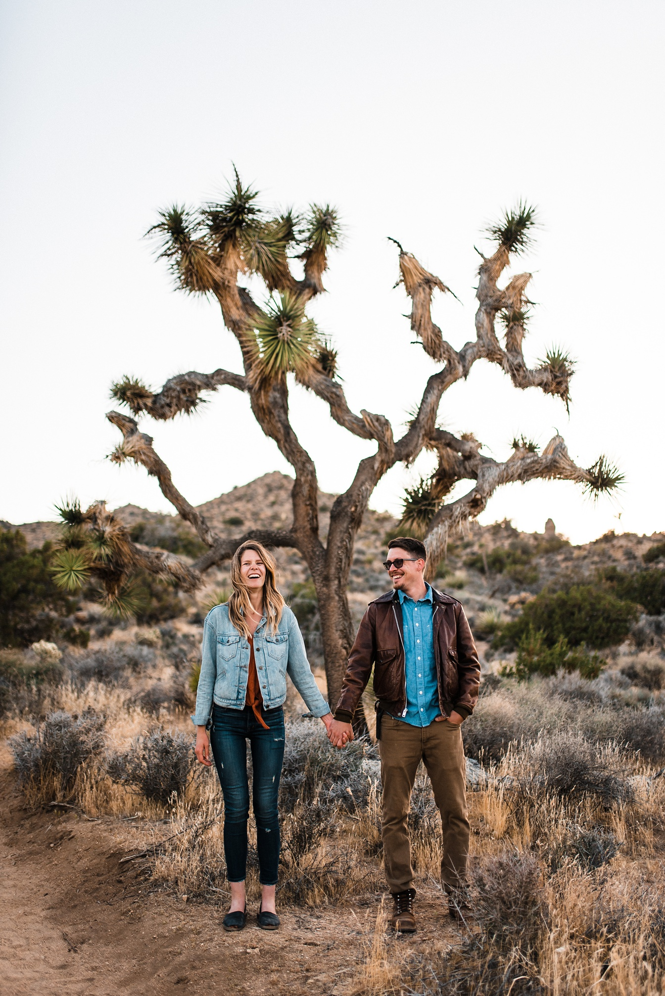 Joshua Tree Day After Wedding Adventure Session