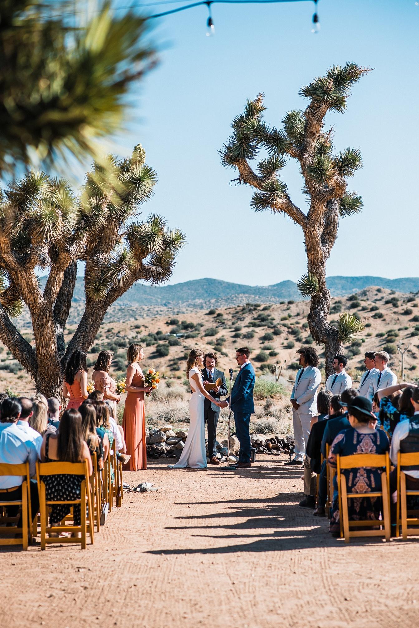 Joshua Tree Wedding at Rimrock Ranch