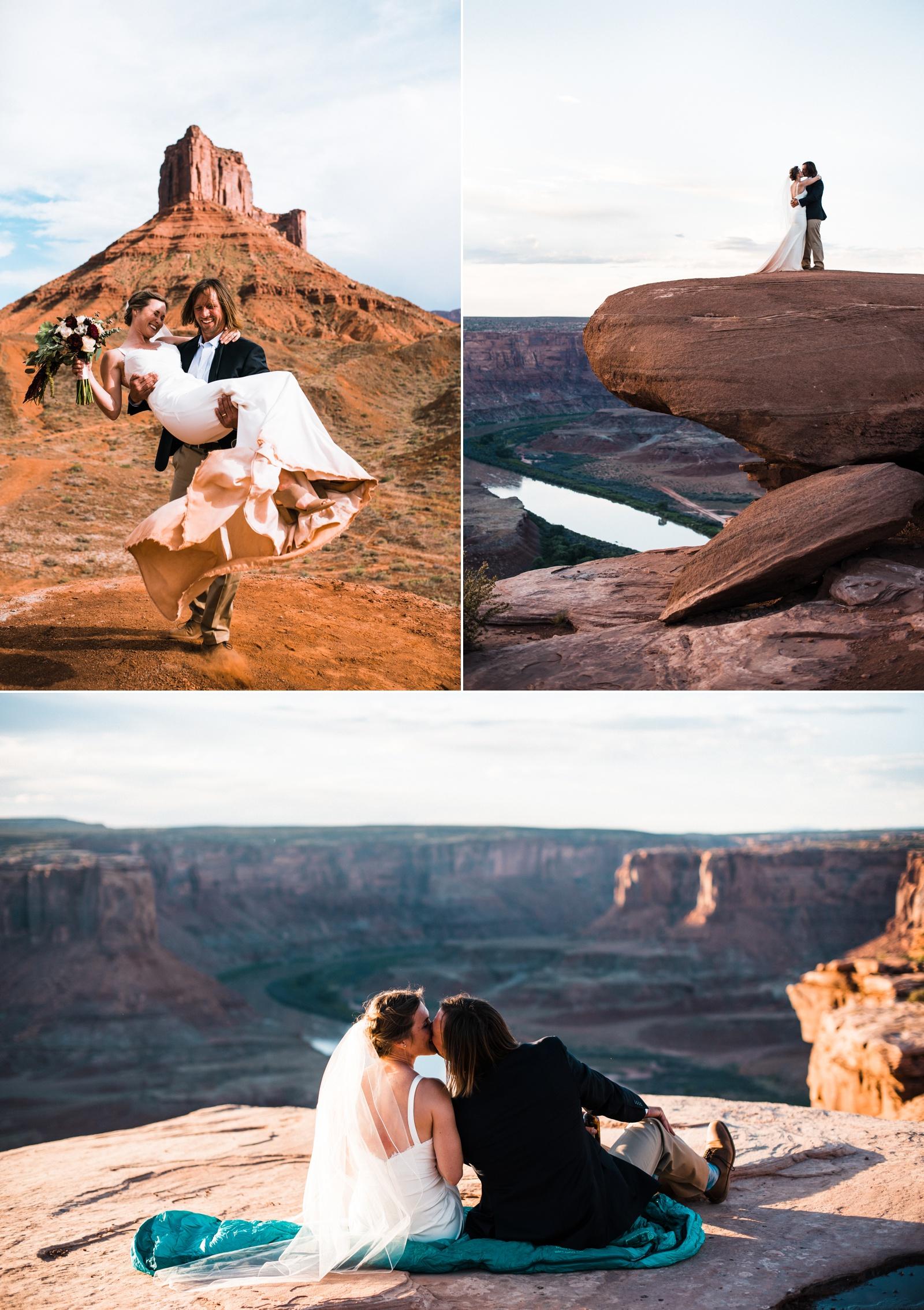 Moab Elopement Photographers