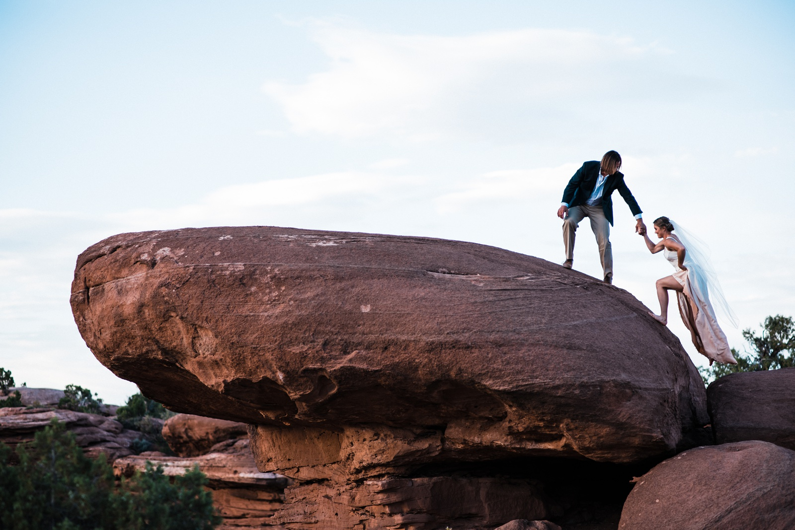 Moab Elopement Photographers