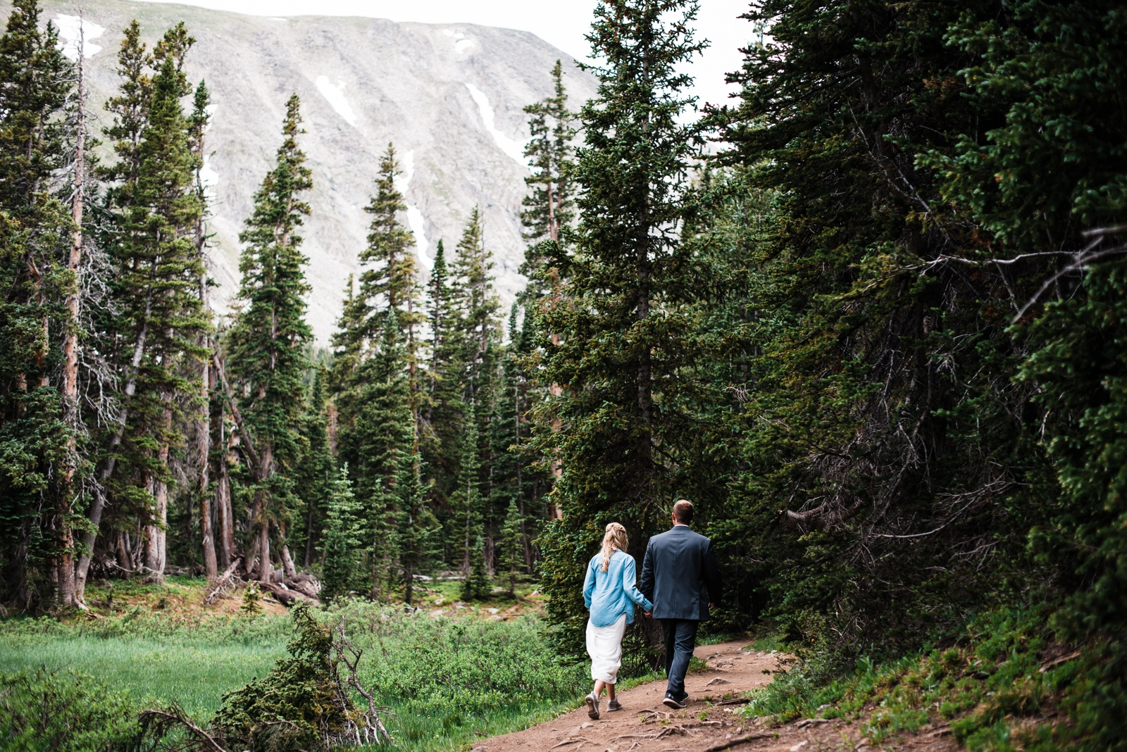 Colorado Elopement in the Rocky Mountains
