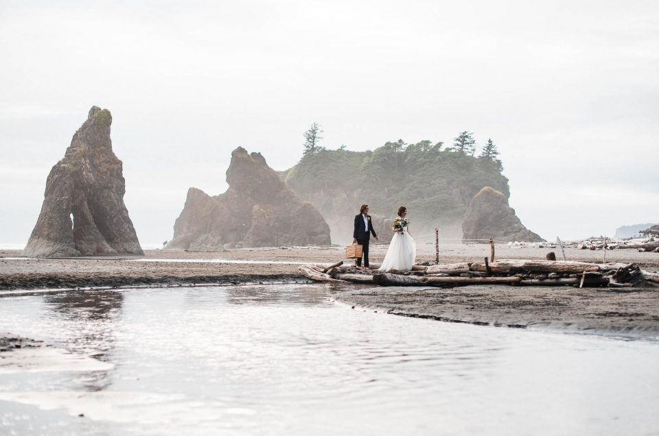 Ruby Beach Elopement Adventure