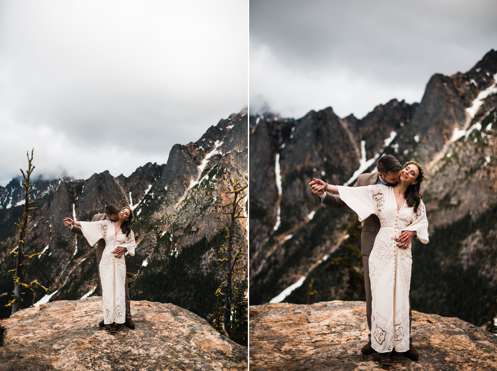 Diablo Lake Elopement