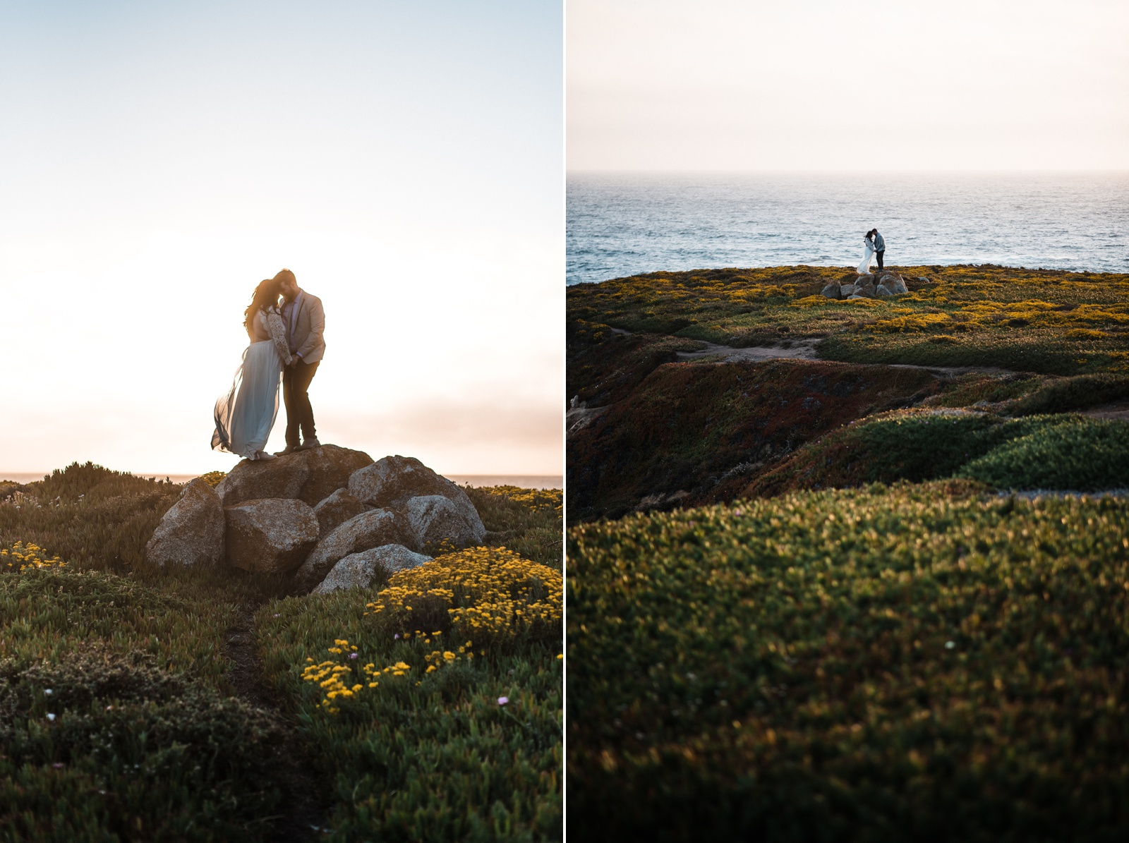 Garrapata State Park Elopement and Big Sur Elopement