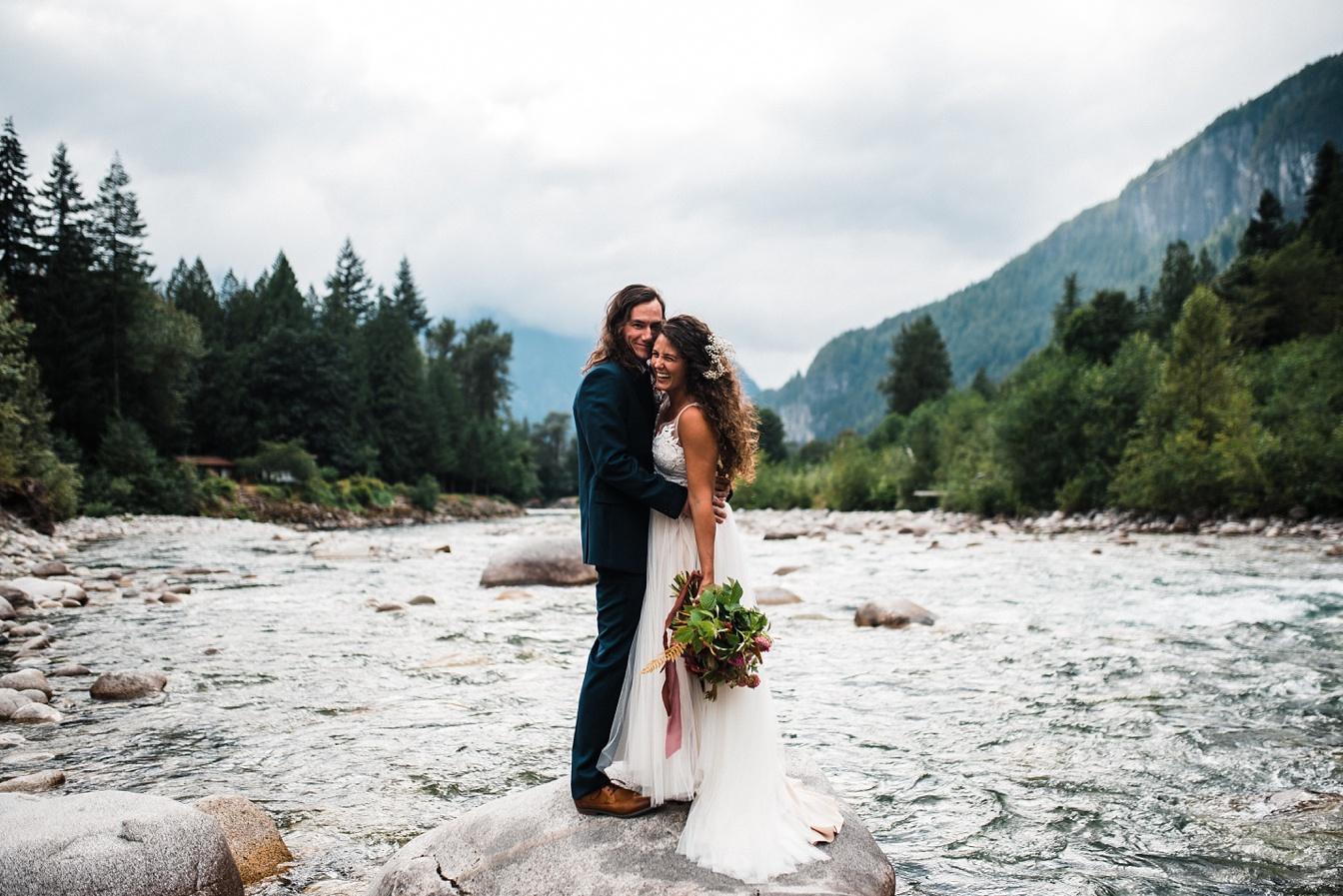Elopement photography for adventure elopements
