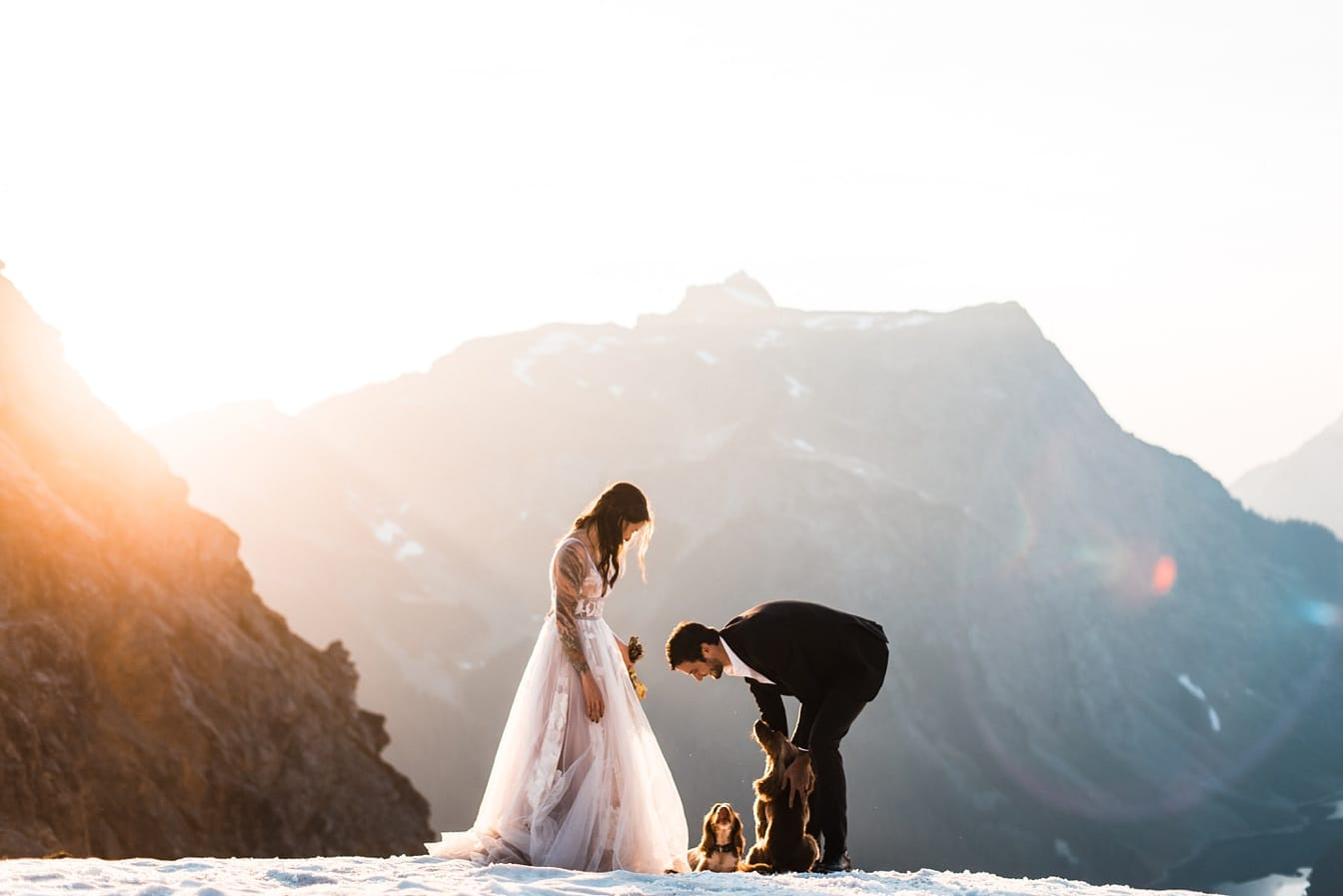 North Cascades Backpacking Elopement