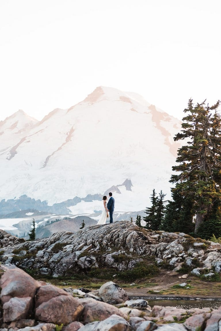 North Cascades Elopement washington mountains