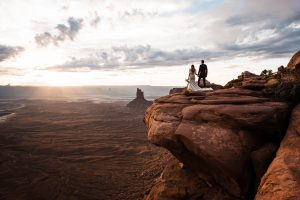 Utah elopement in Moab National Parks