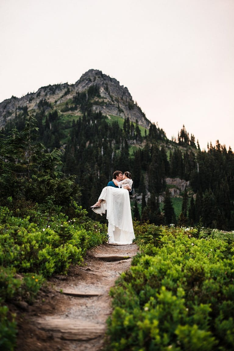 Mt Rainier Washington Elopement