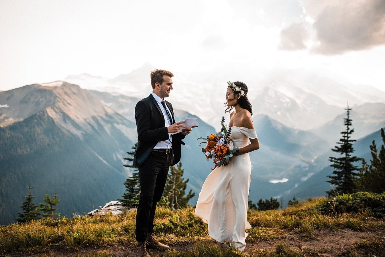 Mt Rainier Elopement