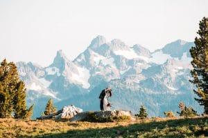 Mt Rainier elopement