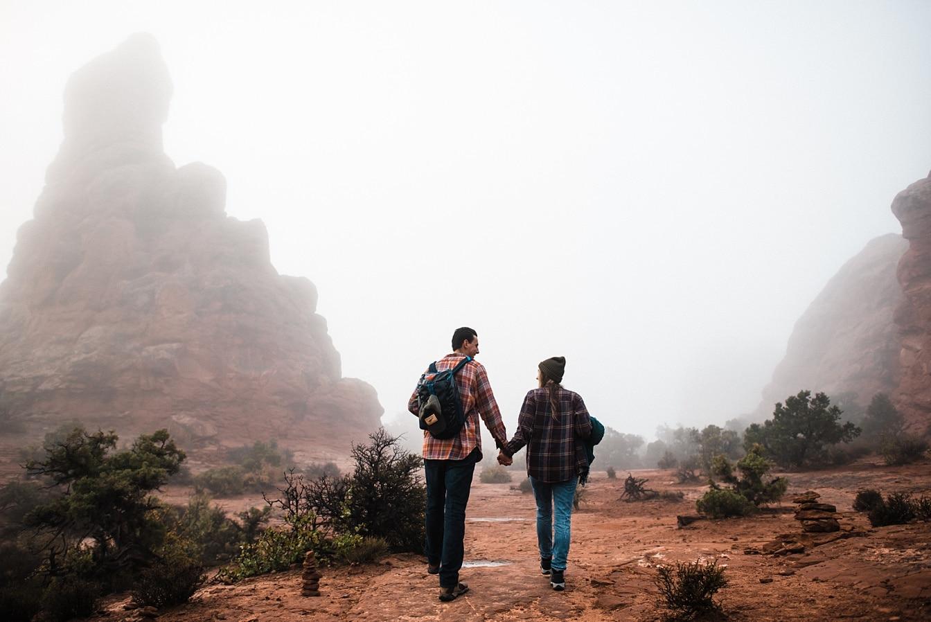 Utah elopement in Moab National Park