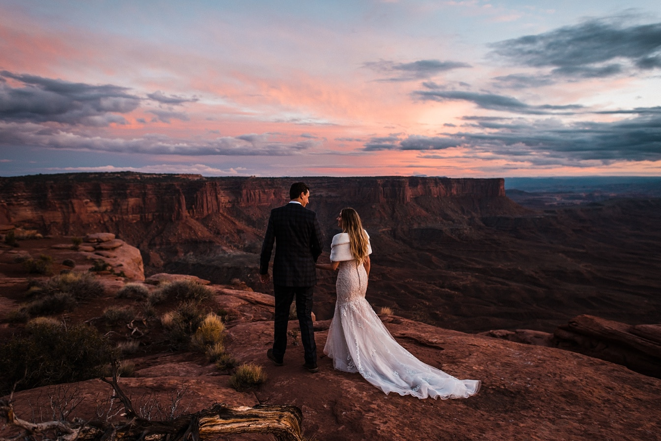 Utah elopement in Moab National Park