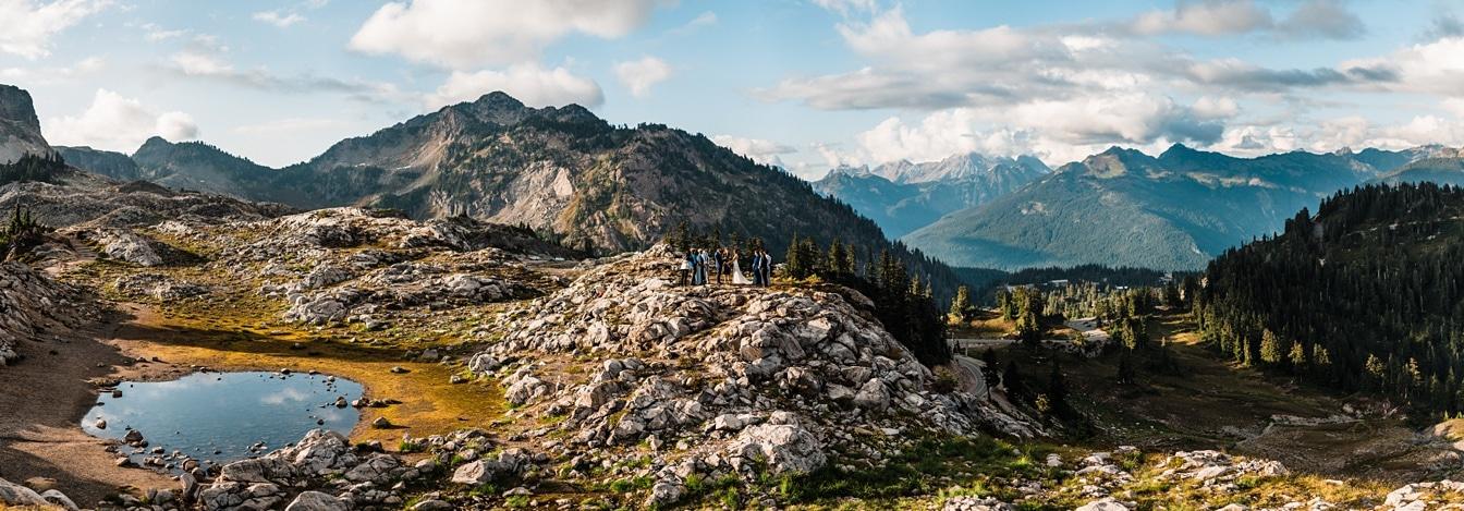 North Cascades National Park Elopement in Washington