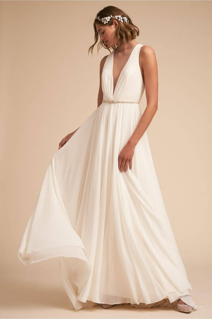 bhldn elopement wedding dresses