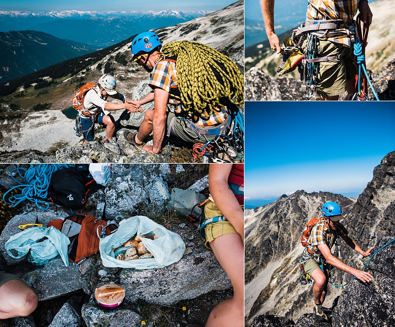 Climbing Elopement in Whistler