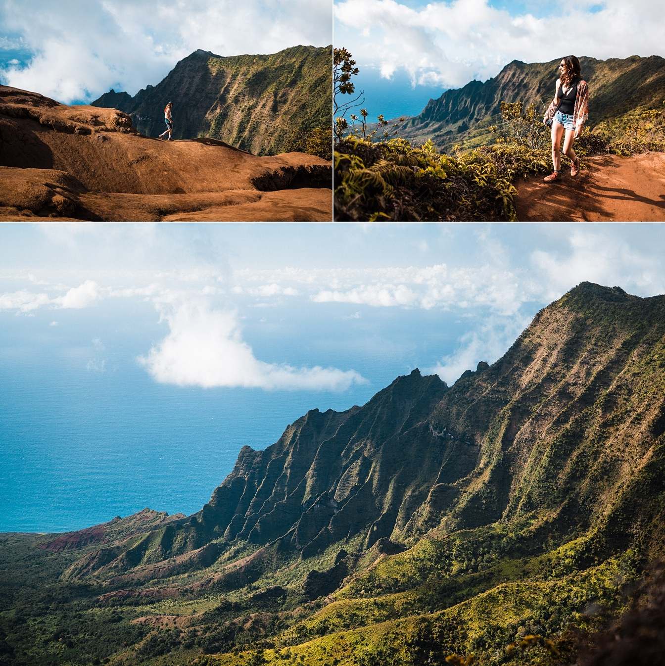 Kauai Elopement location scouting ridge hike