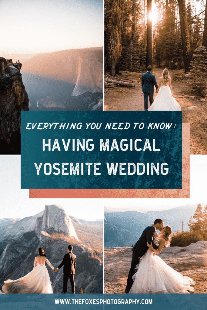 Eloping in Yosemite guide