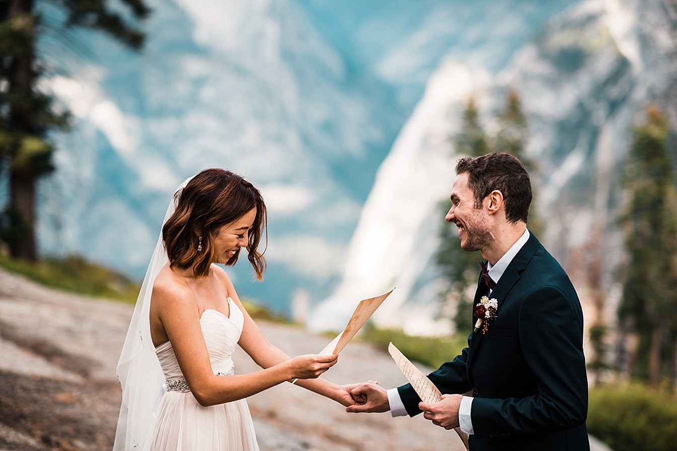 yosemite elopement