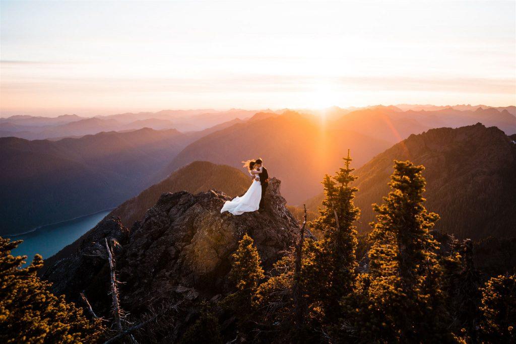 Elopement Photographer and Adventure Wedding