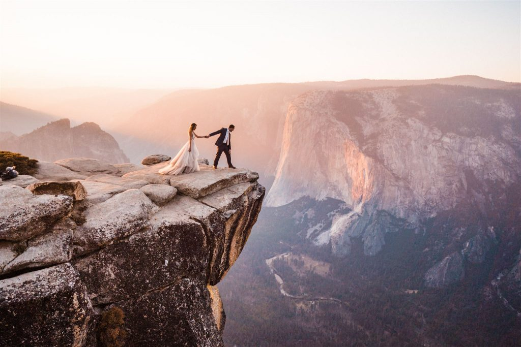 best places to elope in california and Yosemite Elopement Packages