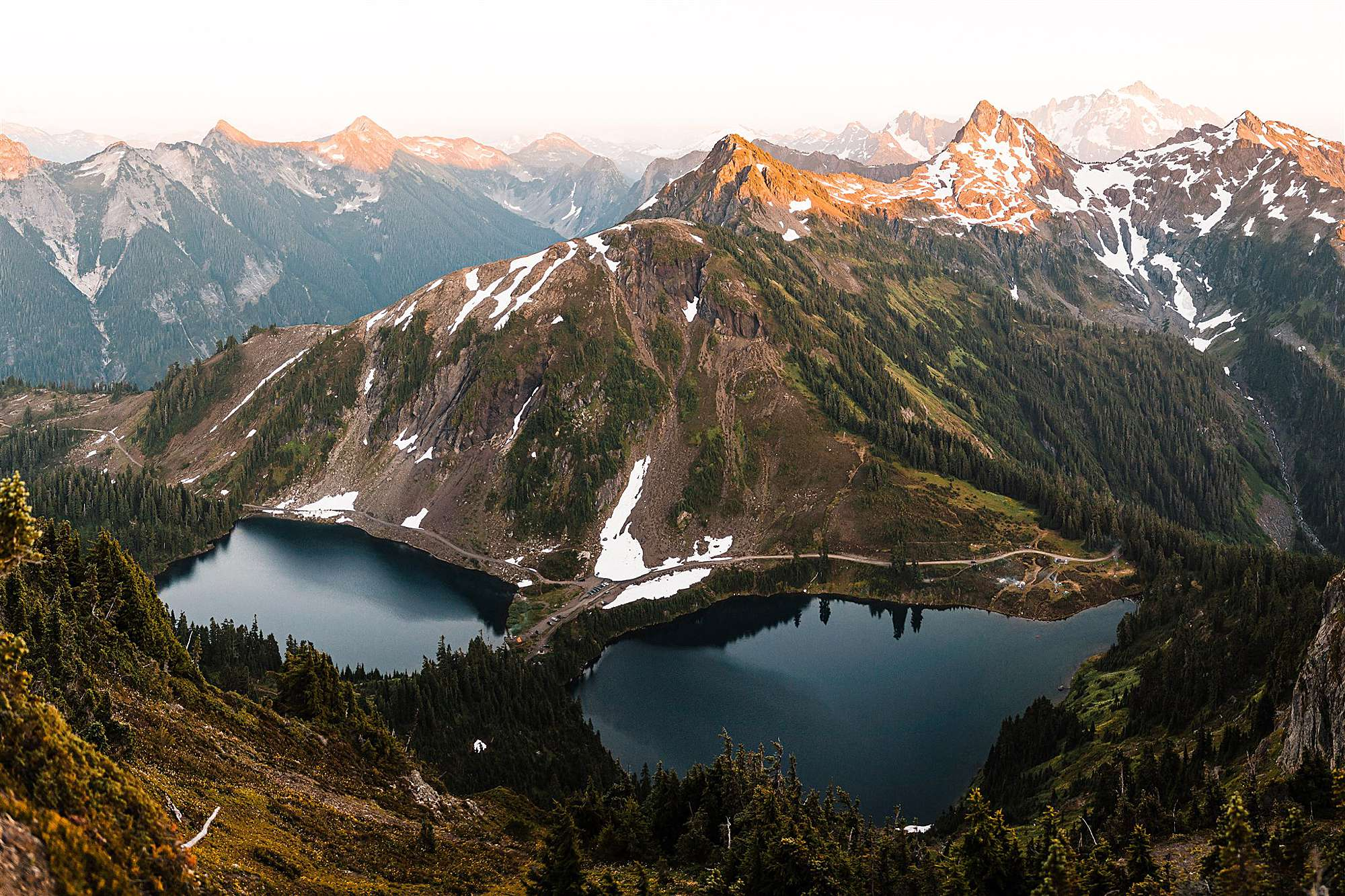 North Cascades Elopement with Family